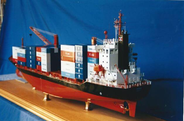 Typical Container Ship