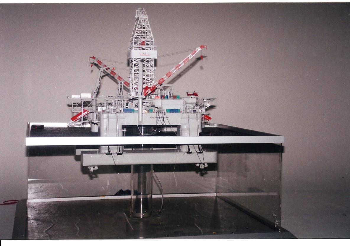 Santa Fe Semi-Submersible (Working Model)