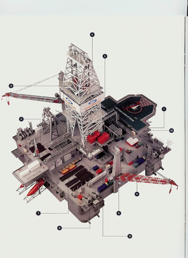Santa Fe Semi-Submersible