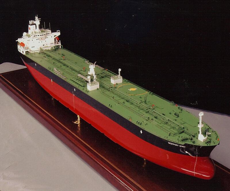 Orange Tanker Front
