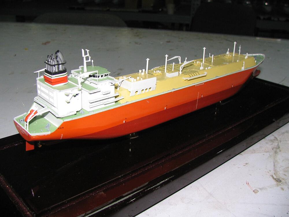 Orange Tanker Back