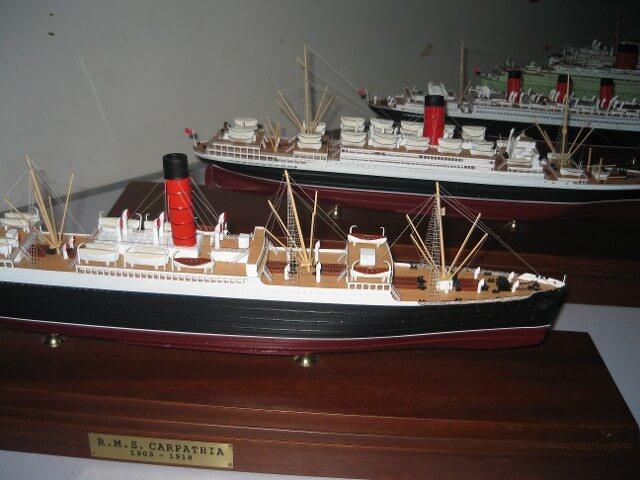 Cunard Ships Various