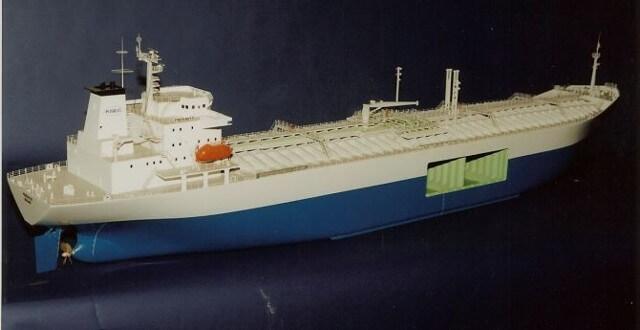 Blue Bottomed Tanker