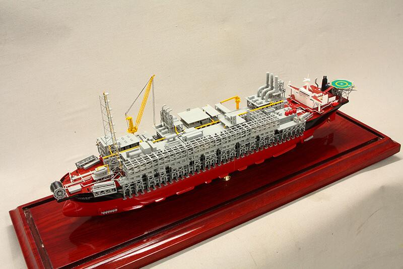 Red Tanker Left Side