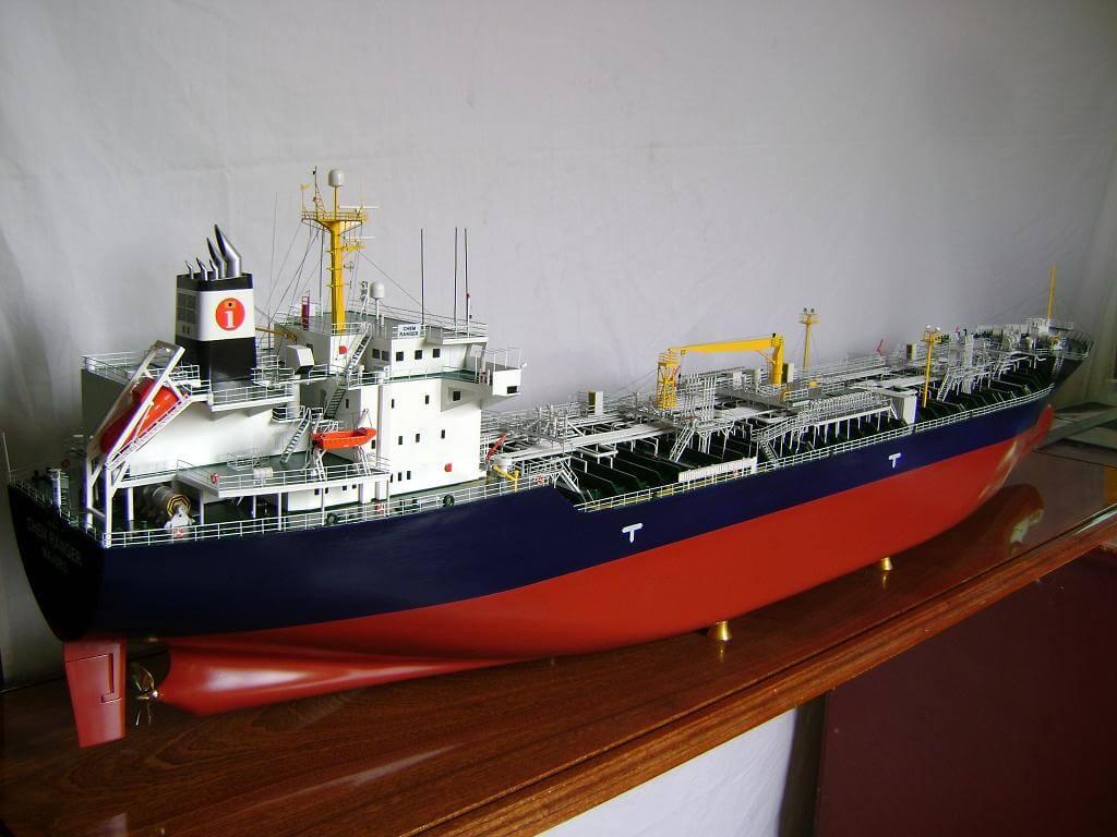Finished Tanker