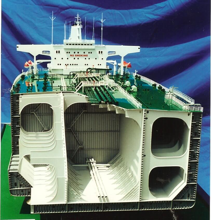 Tanker Cross Section