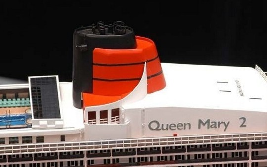 Our Queen Mary 2 Close-up