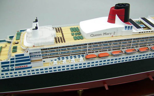 Their Queen Mary 2 Close-up